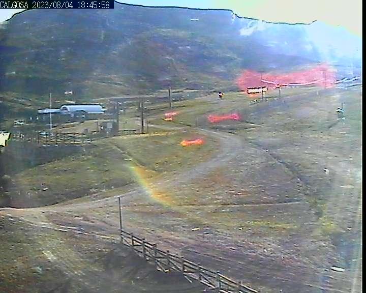 Webcam en Calgosa (1.650 m.), Alto Campoo (Cordillera Cantábrica)