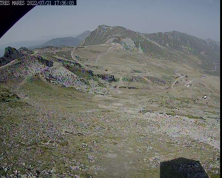 Webcam en Tres Mares (2.125 m.)